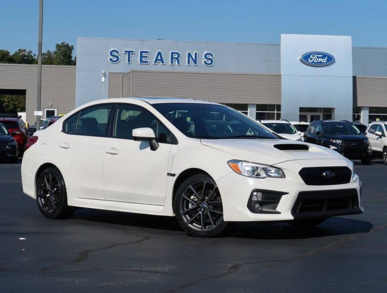 2019 Subaru WRX for sale at Stearns Ford in Burlington NC