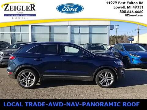 2017 Lincoln MKC for sale at Zeigler Ford of Plainwell- Jeff Bishop in Plainwell MI