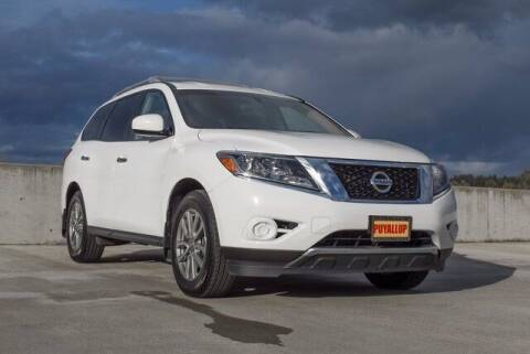 2015 Nissan Pathfinder for sale at Washington Auto Credit in Puyallup WA
