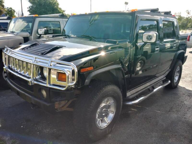 2005 HUMMER H2 SUT for sale at Tony's Auto Sales in Jacksonville FL