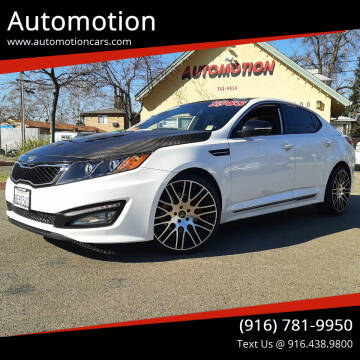 2013 Kia Optima for sale at Automotion in Roseville CA
