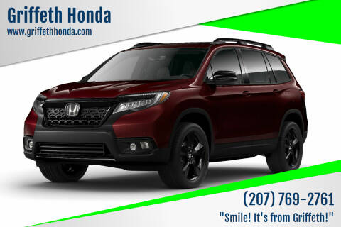 2020 Honda Passport for sale at Griffeth Honda in Presque Isle ME