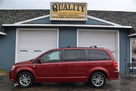 2014 Dodge Grand Caravan for sale at Quality Pre-Owned Automotive in Cuba MO
