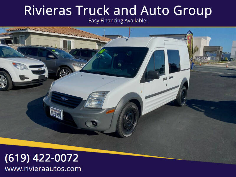 2010 Ford Transit Connect for sale at Rivieras Truck and Auto Group in Chula Vista CA