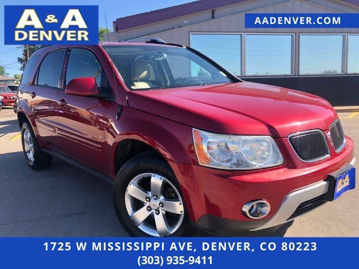 2006 Pontiac Torrent for sale at A & A AUTO LLC in Denver CO