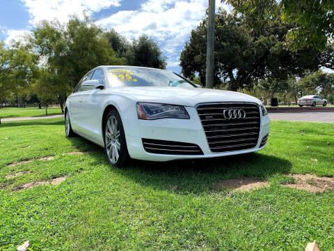 2011 Audi A8 L for sale at D & I Auto Sales in Modesto CA