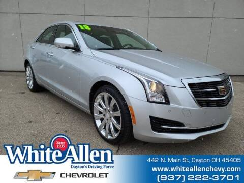 2018 Cadillac ATS for sale at WHITE-ALLEN CHEVROLET in Dayton OH