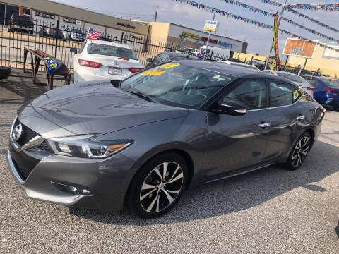 2018 Nissan Maxima for sale at DYNAMIC CARS in Baltimore MD