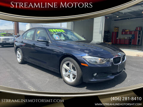 2014 BMW 3 Series for sale at Streamline Motors in Billings MT