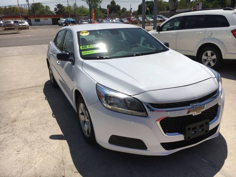 2015 Chevrolet Malibu for sale at PICAZO AUTO SALES in South Houston TX