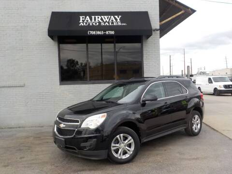2010 Chevrolet Equinox for sale at FAIRWAY AUTO SALES, INC. in Melrose Park IL