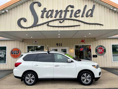 2019 Nissan Pathfinder for sale at Stanfield Auto Sales in Greenfield IN