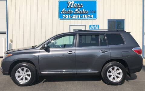2012 Toyota Highlander for sale at NESS AUTO SALES in West Fargo ND