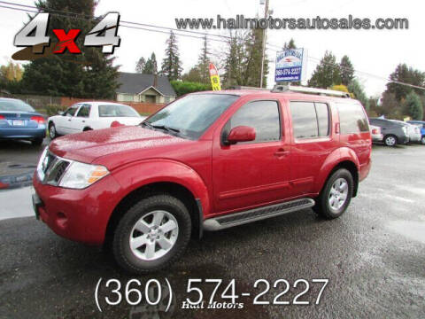 2011 Nissan Pathfinder for sale at Hall Motors LLC in Vancouver WA