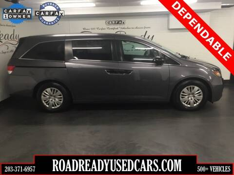 2015 Honda Odyssey for sale at Road Ready Used Cars in Ansonia CT