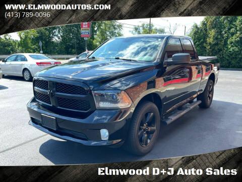 2015 RAM Ram Pickup 1500 for sale at Elmwood D+J Auto Sales in Agawam MA