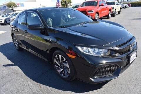 2019 Honda Civic for sale at DIAMOND VALLEY HONDA in Hemet CA