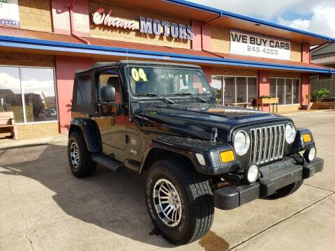 2004 Jeep Wrangler for sale at Ohana Motors - Lifted Vehicles in Lihue HI