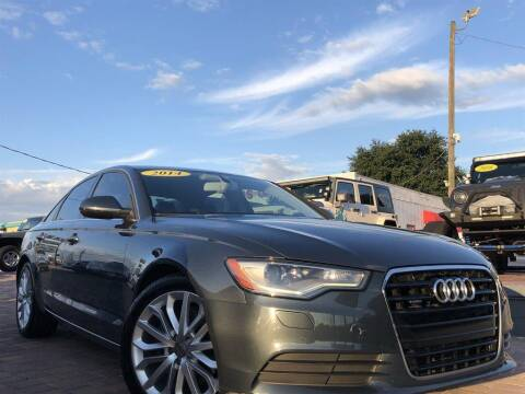 2014 Audi A6 for sale at Cars of Tampa in Tampa FL