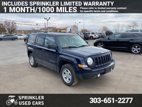 2014 Jeep Patriot for sale at Sprinkler Used Cars in Longmont CO