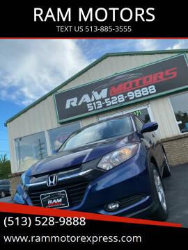 2016 Honda HR-V for sale at RAM MOTORS in Cincinnati OH
