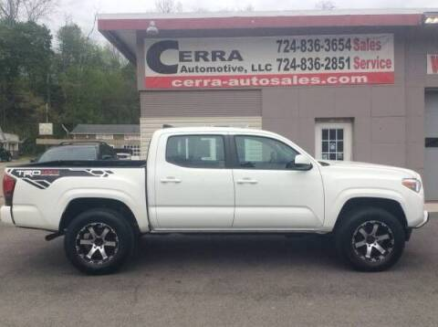 2018 Toyota Tacoma for sale at Cerra Automotive LLC in Greensburg PA
