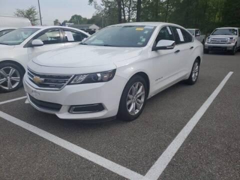 2017 Chevrolet Impala for sale at Strosnider Chevrolet in Hopewell VA