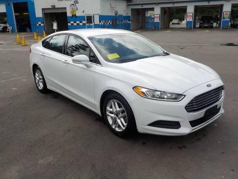2016 Ford Fusion for sale at RTE 123 Village Auto Sales Inc. in Attleboro MA