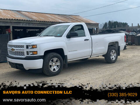 2014 Chevrolet Silverado 1500 for sale at SAVORS AUTO CONNECTION LLC in East Liverpool OH
