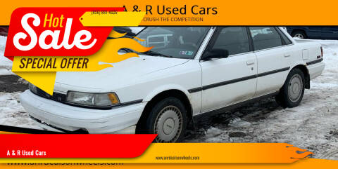 1991 Toyota Camry for sale at A & R Used Cars in Clayton NJ