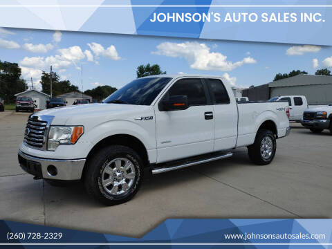 2011 Ford F-150 for sale at Johnson's Auto Sales Inc. in Decatur IN
