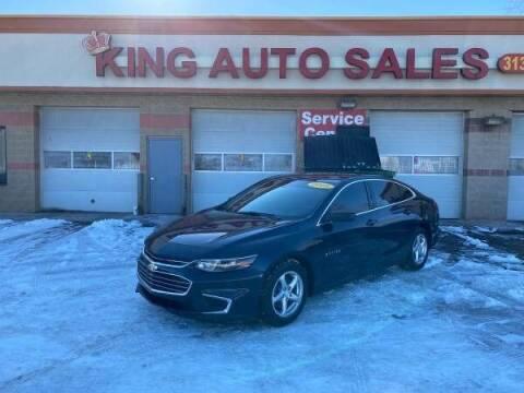 2018 Chevrolet Malibu for sale at KING AUTO SALES  II in Detroit MI