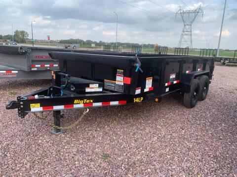 2022 Big Tex 14LP-16 Dump Box #4789