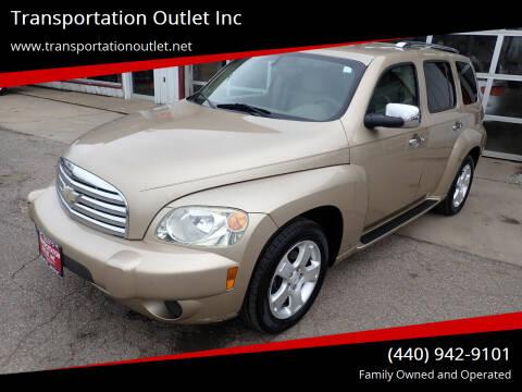 2007 Chevrolet HHR for sale at Transportation Outlet Inc in Eastlake OH