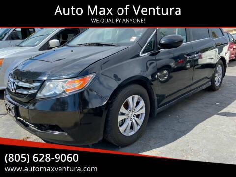 2016 Honda Odyssey for sale at Auto Max of Ventura in Ventura CA