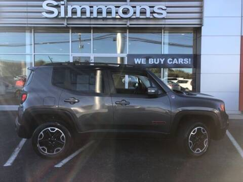 2017 Jeep Renegade for sale at SIMMONS NISSAN INC in Mount Airy NC