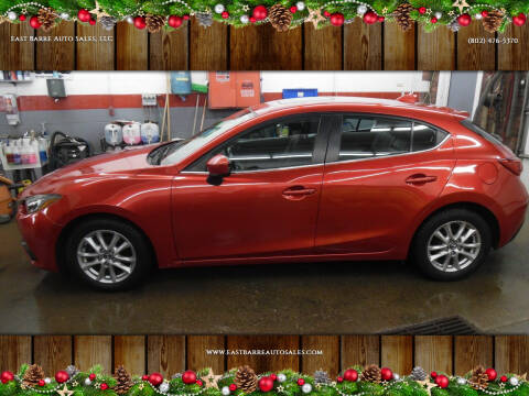 2014 Mazda MAZDA3 for sale at East Barre Auto Sales, LLC in East Barre VT