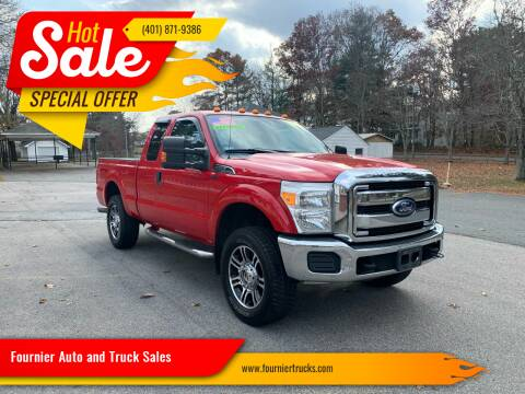 2011 Ford F-250 Super Duty for sale at Fournier Auto and Truck Sales in Rehoboth MA