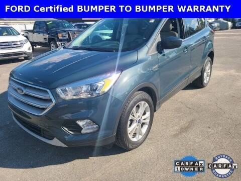 2019 Ford Escape for sale at PHIL SMITH AUTOMOTIVE GROUP - Tallahassee Ford Lincoln in Tallahassee FL