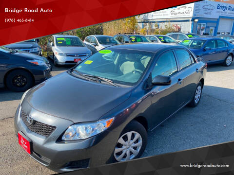 2009 Toyota Corolla for sale at Bridge Road Auto in Salisbury MA
