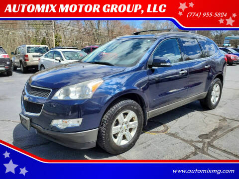 2011 Chevrolet Traverse for sale at AUTOMIX MOTOR GROUP, LLC in Swansea MA