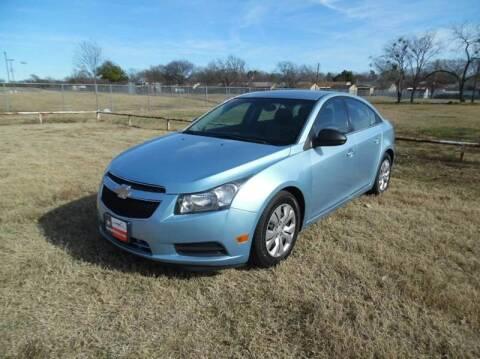 2012 Chevrolet Cruze for sale at LA PULGA DE AUTOS in Dallas TX