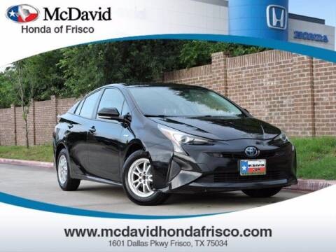 2018 Toyota Prius for sale at DAVID McDAVID HONDA OF IRVING in Irving TX