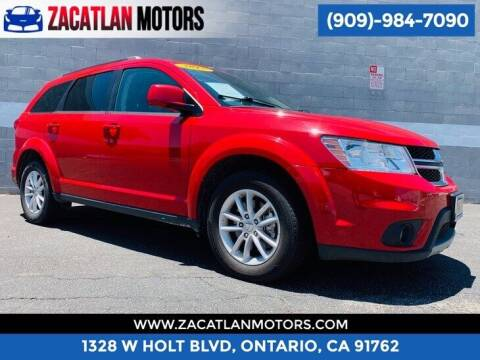 2017 Dodge Journey for sale at Ontario Auto Square in Ontario CA