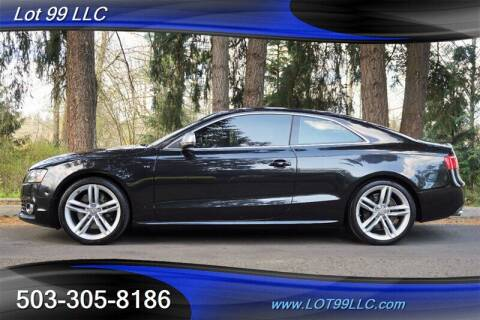 2008 Audi S5 for sale at LOT 99 LLC in Milwaukie OR