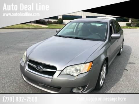 2008 Subaru Legacy for sale at Auto Deal Line in Alpharetta GA