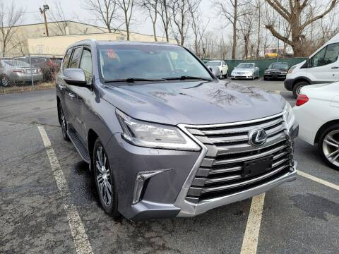 2018 Lexus LX 570 for sale at AW Auto & Truck Wholesalers  Inc. in Hasbrouck Heights NJ