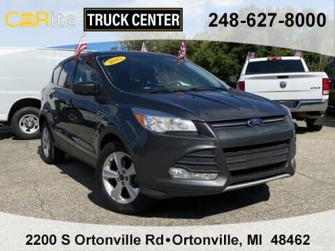 2015 Ford Escape for sale at Carite Truck Center in Ortonville MI