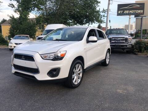 2013 Mitsubishi Outlander Sport for sale at RT28 Motors in North Reading MA