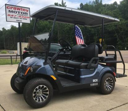 2018 Yamaha QueitTech Strret Legal 4Seater for sale at Crawley Motor Co in Parsons TN